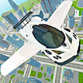 Flying Car Real Driving APK download