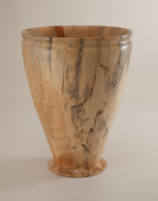 "Photo: Mike Colella 5"" x 9"" vessel [box elder]"