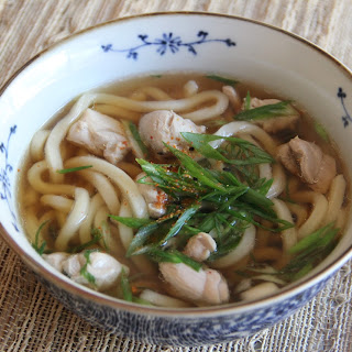 Chicken Udon.