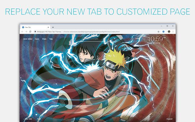 Naruto Vs Sasuke Wallpaper Hd Custom New Tab