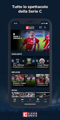 Eleven Sports Italia screenshot 2