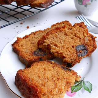 Date Honey Nut Cake.