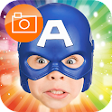 Superheroes Mask Photo Sticker icon