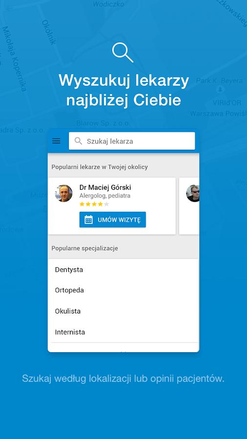 ZnanyLekarz - umów wizytę- screenshot