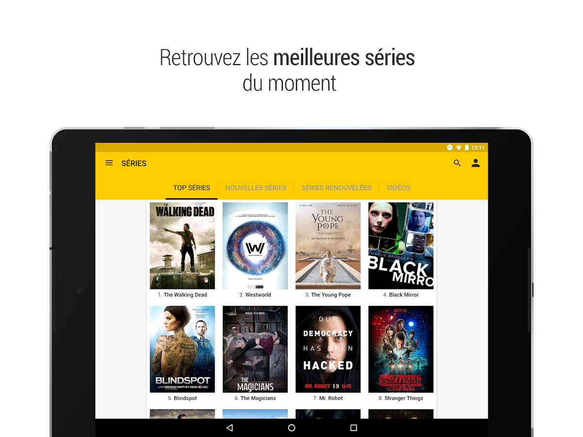 AlloCine – Applications Android sur Google Play