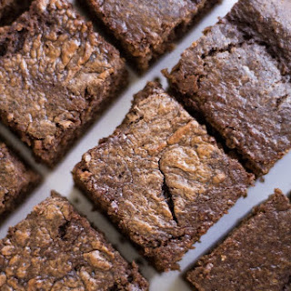 Double Chocolate Protein Squares.