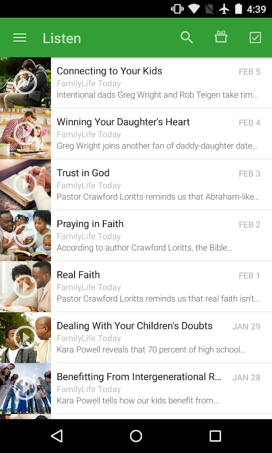FamilyLife- screenshot