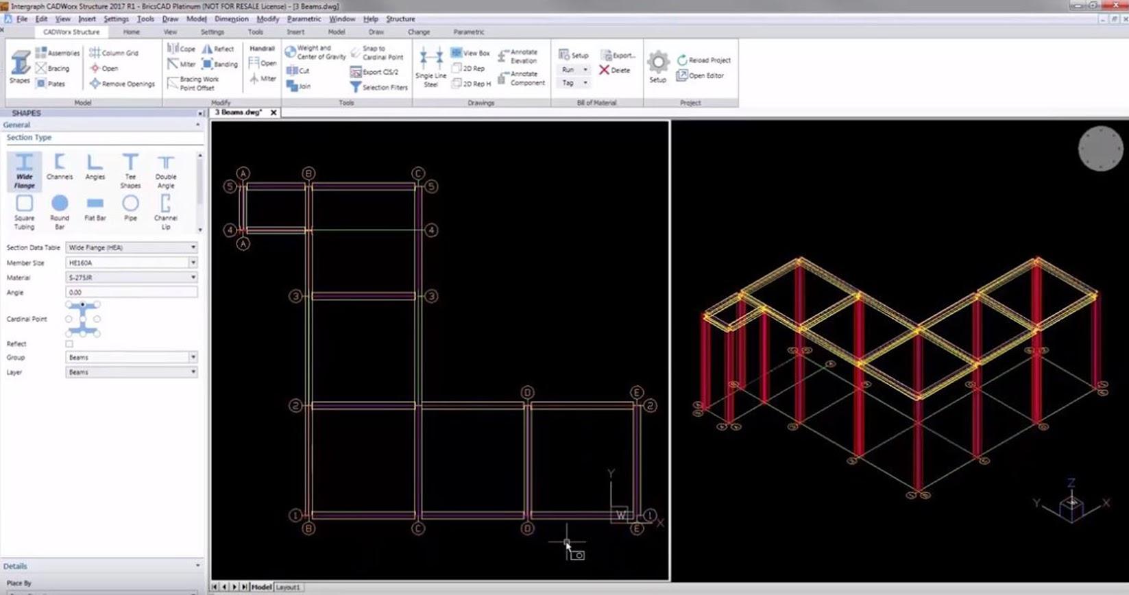 CADWorx Structure