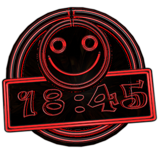 Clock Smile Live Wallpaper