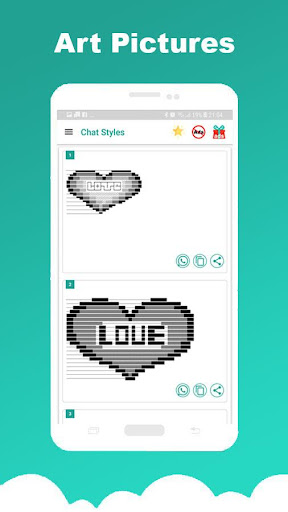 Chat Styles: Cool Font & Stylish Text for WhatsApp 7.1 Screenshots 14