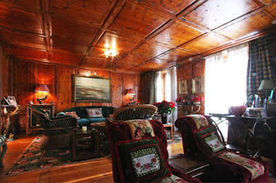 A Traditional St Moritz Chalet