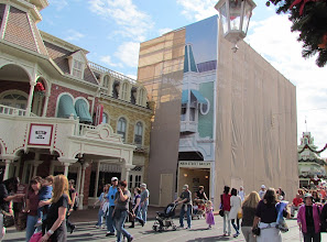 Photo: The Main Street Bakery is also getting facade work.