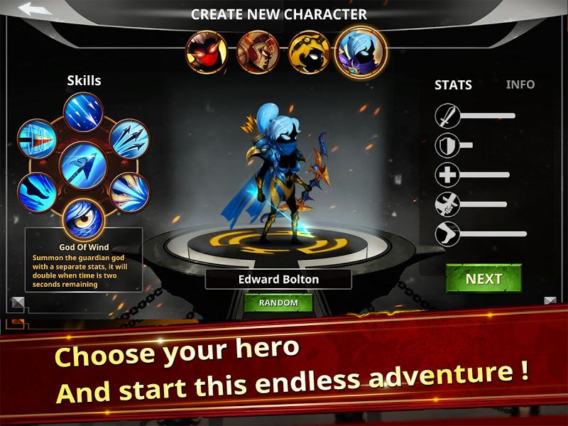 Stickman Legends - Ninja Warriors: Shadow War Screenshot 2