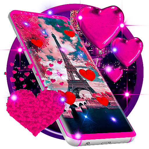 Paris Sparkles Live Wallpaper Android APK Download Free By MX Apps