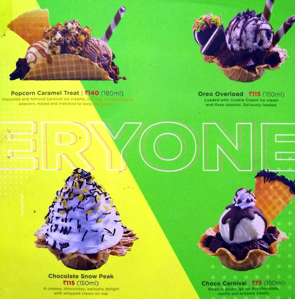 Havmor Ice Cream menu 5