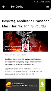 Beşiktaş Haberleri screenshot 8