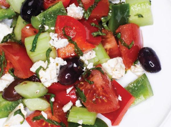 Pami's Chunky Chopped Salad! Recipe