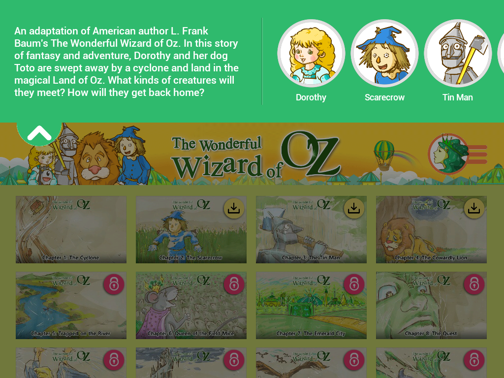 the wizard of oz storybook android apps on google play