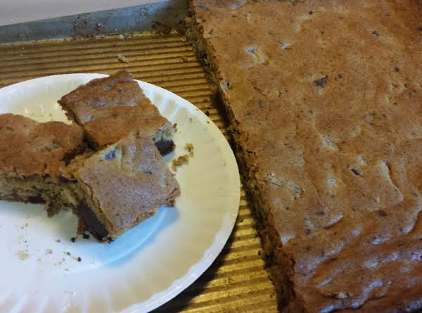 Chocolate Chunk Blondies (easy) By Susan Recipe