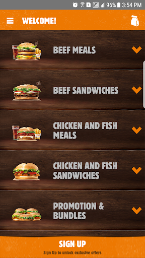 Burger King Arabia 4.6.4 Screenshots 1