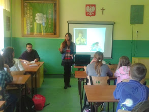 """Photo: Studenci z zagranicy w ramach programu """"Enjoy my origin"""" organizowanych przez AISEC (09.2013)"""