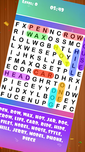 WORDS SEARCH: INFINITE CROSSWORD PUZZLE  FREE GAME 8.0 Mod screenshots 1