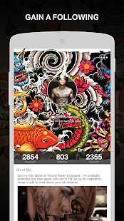 Tattoo Amino for Body Art- screenshot thumbnail