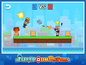 Jump Gun Battle APK screenshot thumbnail 5