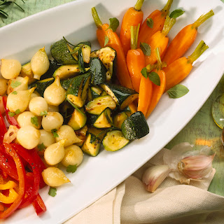 Italienische Gemüseplatte