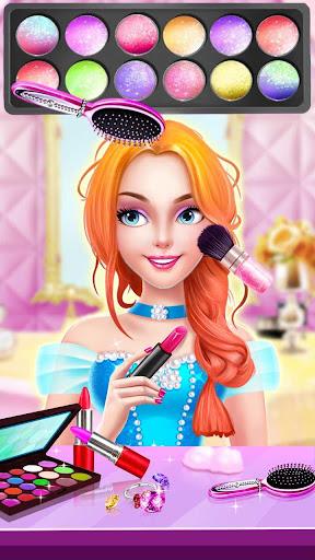 👸💇Long Hair Beauty Princess - Makeup Party Game screenshot 3