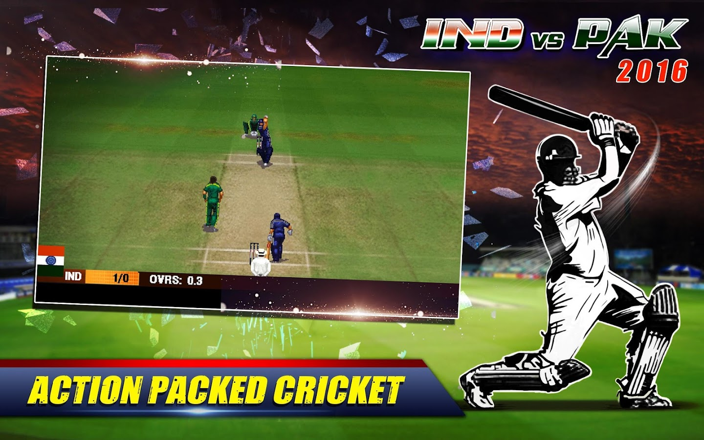 India vs Pakistan 2016 Game- screenshot
