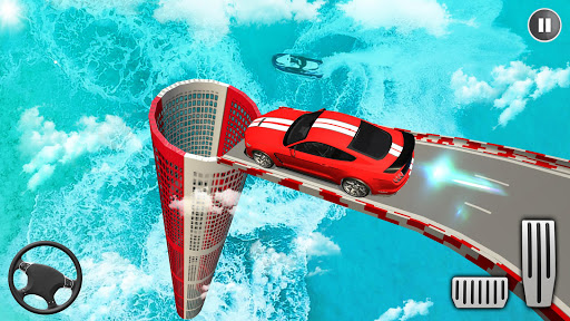 Muscle Car Stunts 3D Mega Ramp Racing Car Games 1.01 screenshots 10