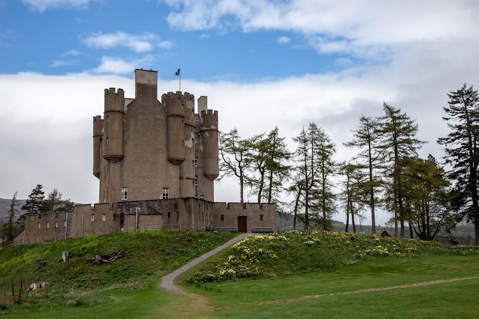 Braemer Castle, szkockie zamki