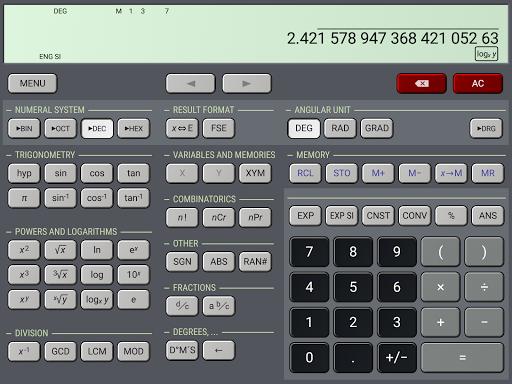 HiPER Scientific Calculator 6.1.1 screenshots 16
