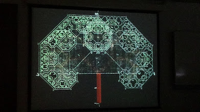 Photo: Unfolding symmetric fractal trees, by Bernat Espigulé Pons.