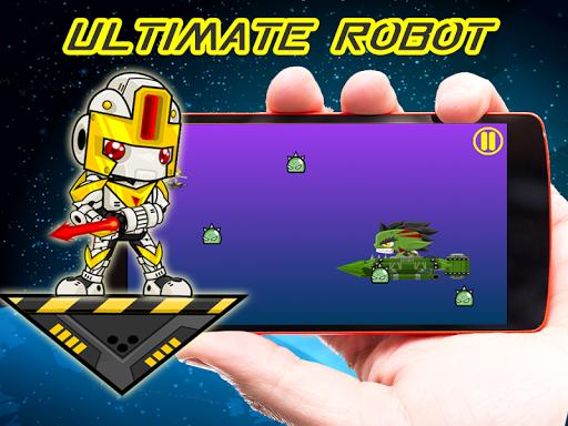 Robot ultimate space war