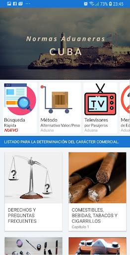 Normas Aduaneras de Cuba 13 screenshots 5