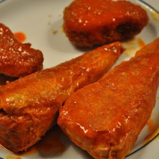 Vegetarian Buffalo Wings.