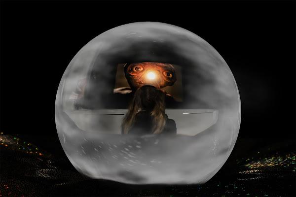 Un tuffo nel passato nella sfera di cristallo di Sara Jazbar