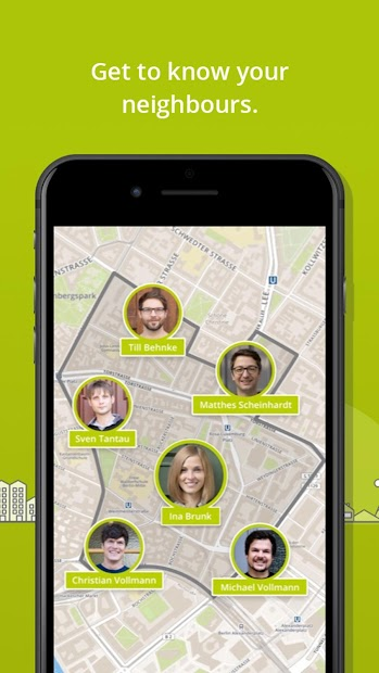 nebenan.de - your social network for neighbours Android App Screenshot