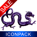 Purple Dragon HD Icon Pack