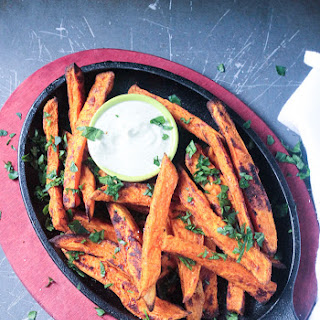Sweet Potato Fries With Dip Recipes