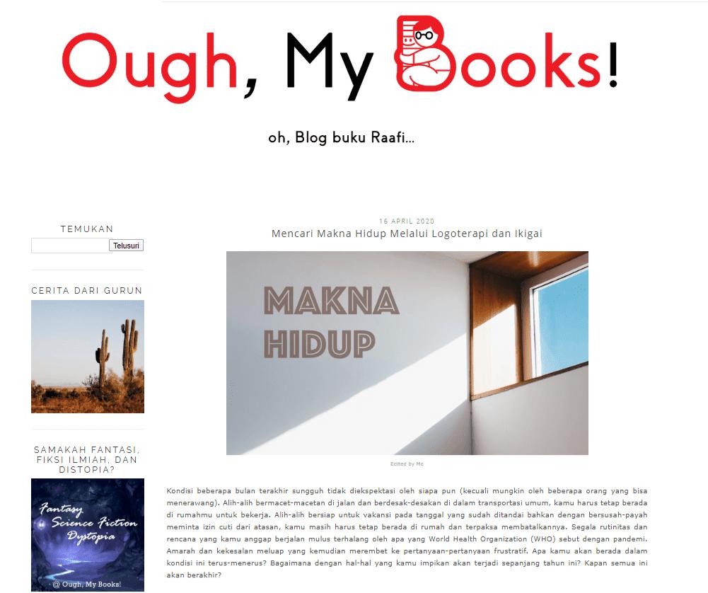 Abduraafi Andrian - Ough, My Books!