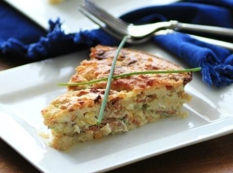 Cheddar-corn Impossible Pie Recipe
