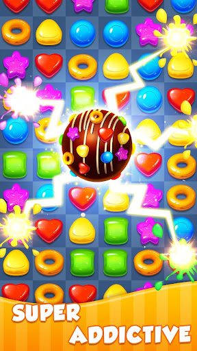 Candy Light - 2018 New Sweet Glitter Match 3 Game  screenshots EasyGameCheats.pro 1