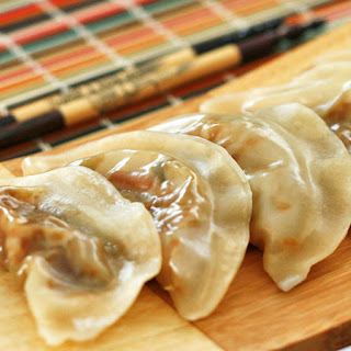 Easy Steamed Vegetable Dumplings.