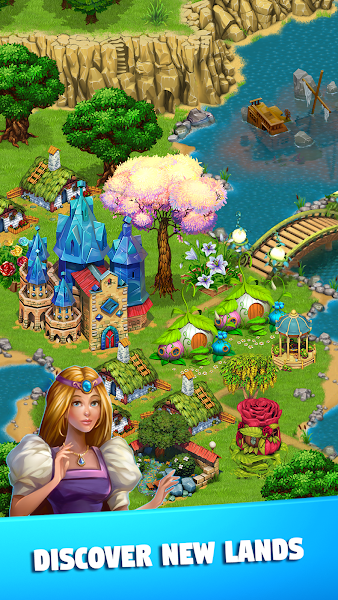 Fairy Kingdom: World of Magic v2.1.4 [Mod]