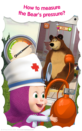 Masha and the Bear: Free Animal Games for Kids - screenshot