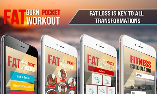 Fat Burn Pocket workout 1.0.3 screenshots 3