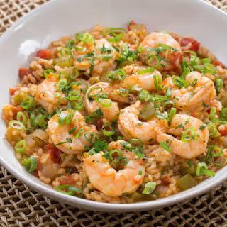 One-Pot Shrimp Perloo.